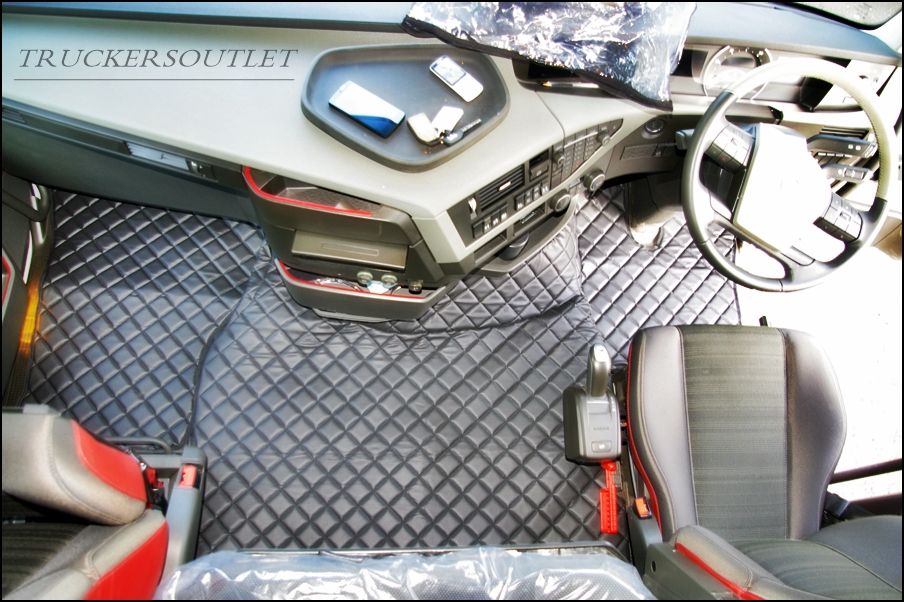 Volvo Fh 2014 Fh4 Leatherette Floor Set Www Truckers