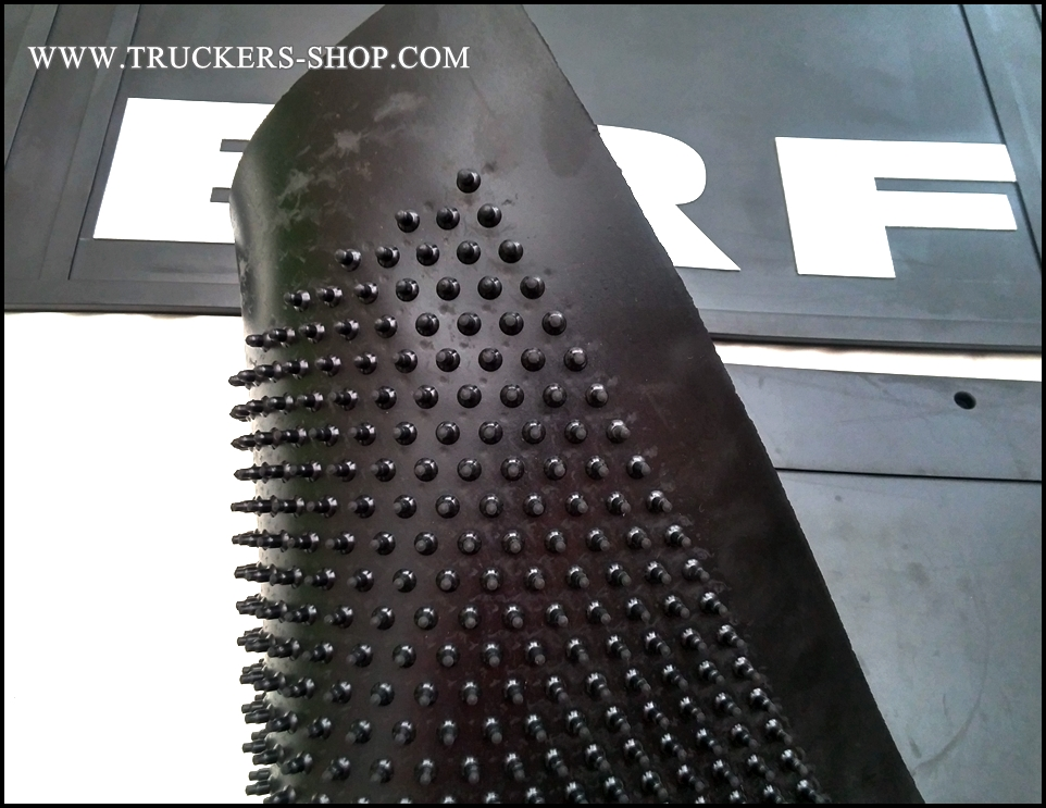 Carpet For Cars >> REAR MUD FLAPS ERF ANTI SPRAY - WWW.TRUCKERS-SHOP.COM